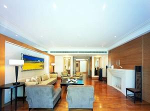 新时代新文化新标杆时尚精致大户型客厅装修效果图欣赏