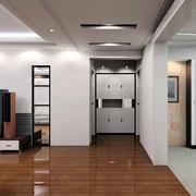 现代创意进门玄关装修