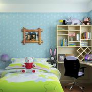 儿童房液体壁纸装修
