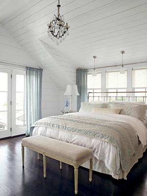 清新型卧室装修图片