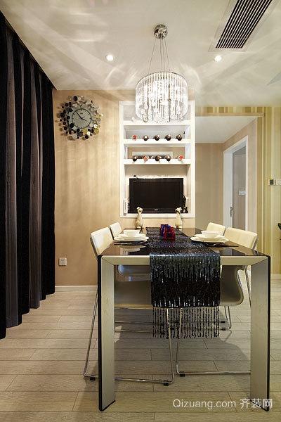 120平米灵感流动的现代简约的混搭风格房屋装修效果图