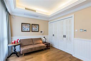 140平米整体细腻大气简洁而富有自由美感的美式情调复式楼