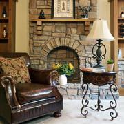 别墅壁炉设计图片