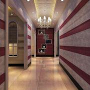 深色调墙面装修设计