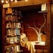 深色调小书房装修