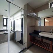 三室两厅两卫玻璃隔断