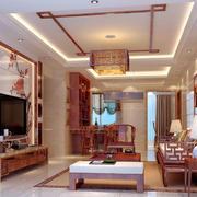 传统型客厅吊顶装修