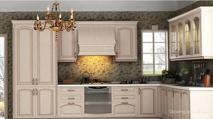 厨房的形象:精美橱柜设计效果图