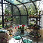 清新自然阳光房装修