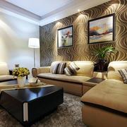温馨型沙发背景墙