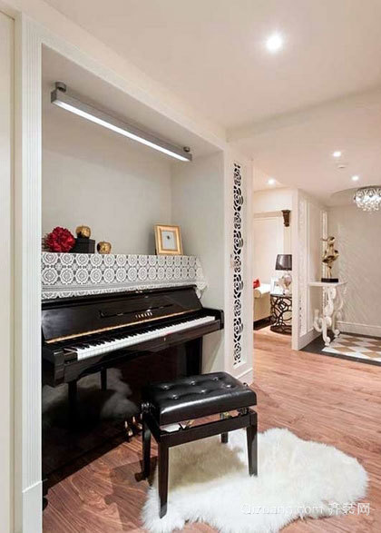 小资生活必备 93平米新古典单身公寓室内装修效果图大全