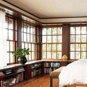 客厅飘窗装修图片