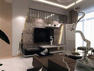 完美客厅瓷砖背景墙装修效果图鉴赏