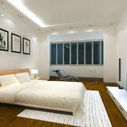 简约风格卧室壁纸装修