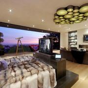 田园风格电视墙设计