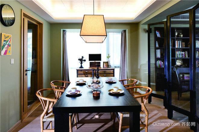 140平米摩登范古典情怀自由大胆的公寓装修设计