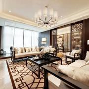 传统型客厅设计效果图