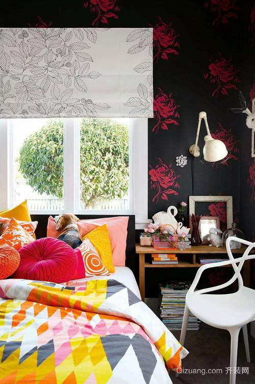 创造温馨氛围的混搭风格卧室装修效果图