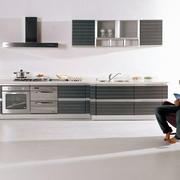 冷色调厨柜装修设计