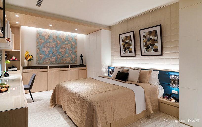 幸福空间:美好舒适的三室两厅两卫家居装修效果图