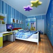 清爽型儿童房装修