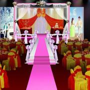 唯美风格婚庆装修设计