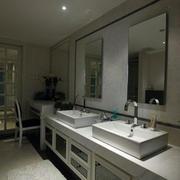 卫生间水池装修图片