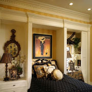 深色调房间装修设计