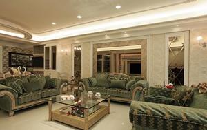 2015有温度的简欧式酒店公寓室内设计装修效果图