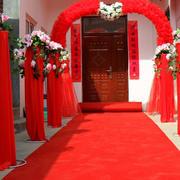 大红色调婚庆装修设计