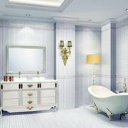 白色调浴室装修图片