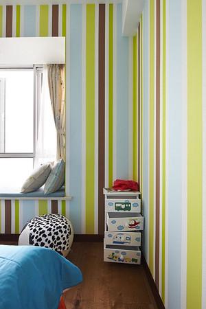 120平米三室两厅轻快活泼的现代简约风格装修效果图