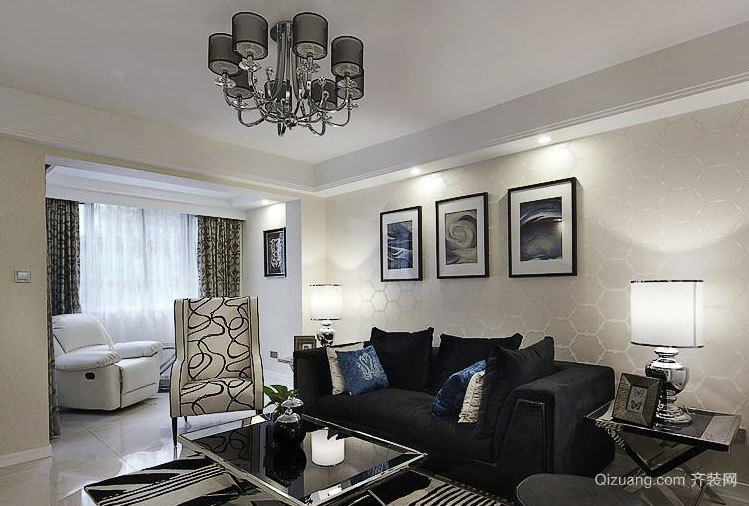 用时6个月打造150㎡后现代两居室家装效果图欣赏