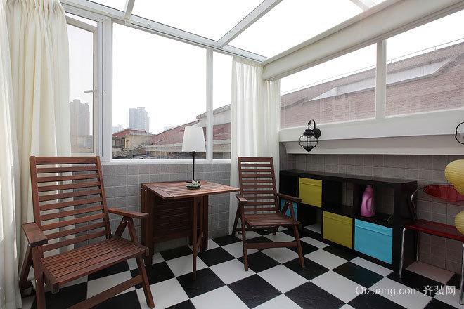 80平米现代简约风格清新可人婚房装修效果图