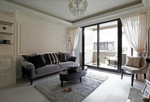 一个人的浪漫:50平米小户型一室一厅一卫装修效果图