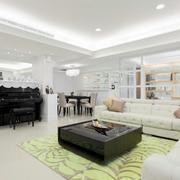 现代创意三室两厅装修