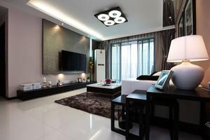 造价30万的精致后现代风格两居室房屋装修效果图