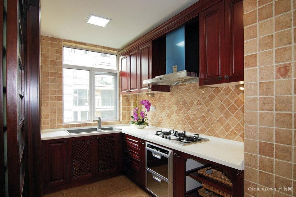 家中美食发源地:混搭风格厨房装修效果图