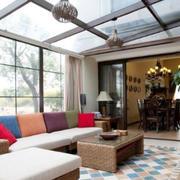 阳光房沙发设计图片