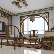 中式客厅拱门装修