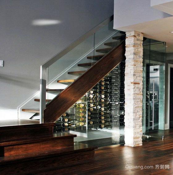 好酒的珍藏地:别墅酒窖设计装修效果图