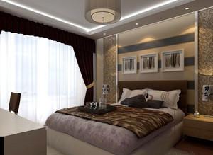 卧室床头背景墙装修效果图鉴赏