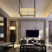中式客厅背景墙装修