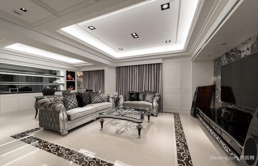 新婚新气象 年轻时尚创意三室一厅家居装修效果图