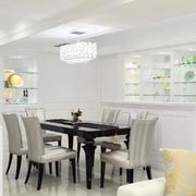 白色简约三室两厅装修
