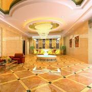 宾馆大厅地板砖设计