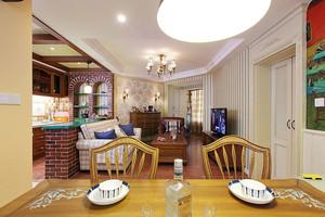 180平米花香袭人的美式经典乡村风格独栋别墅装修效果图