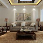 中式客厅沙发装修