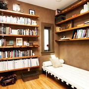 浅色调书房装修图片
