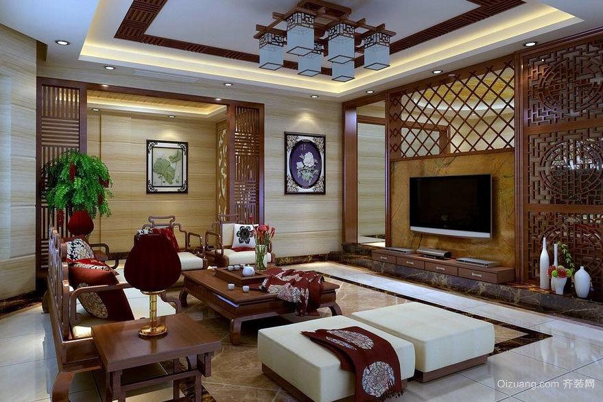 蕴含文化底蕴:精致中式客厅装修效果图鉴赏